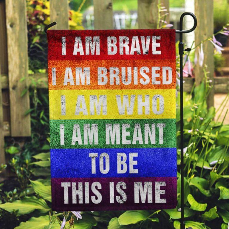 LGBTQ THIS IS ME Gay Pride Flag