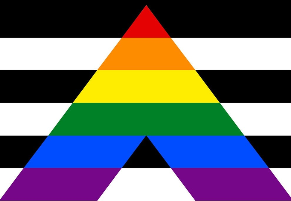 Straight Ally Flag LGBTQ Pride