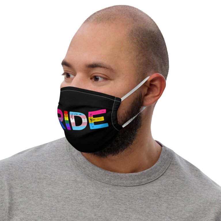 PRIDE LGBTQ Flags Face Mask