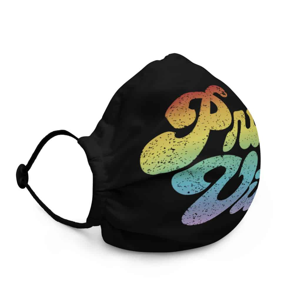 LGBT Retro Pride Vibes Face Mask