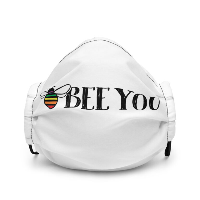 LGBTQ Bee You Face Mask