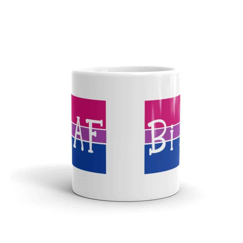 Bi AF Pride LGBT Coffee Mug
