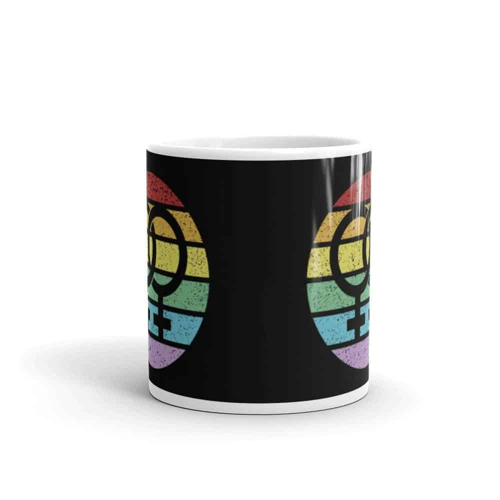 Retro Lesbian Female Symbol Pride LGBT Coffee Mug