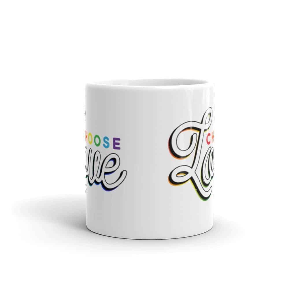 Choose Love Pride LGBT Coffee Mug