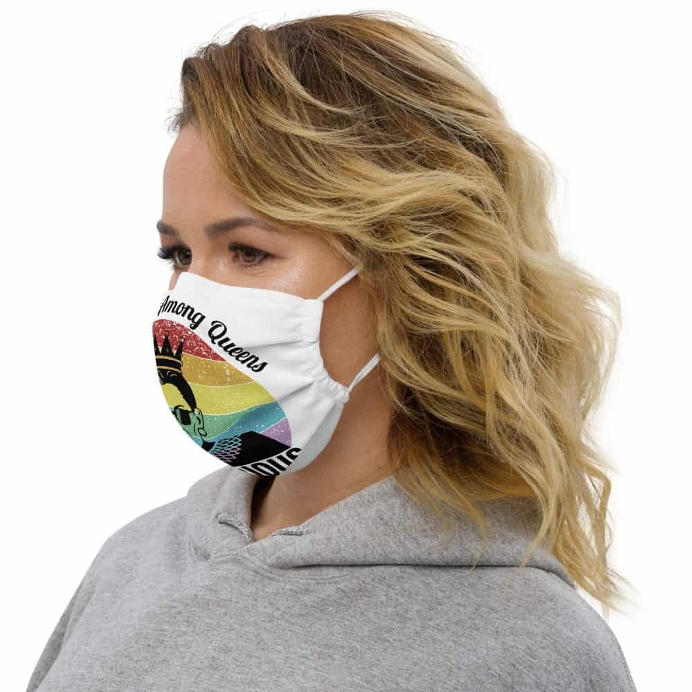 Notorious Queen RBG Pride LGBTQ Face Mask