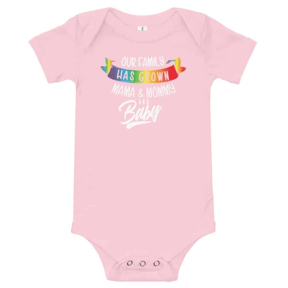 LGBT Pride Mom Mommy & New Baby Bodysuit