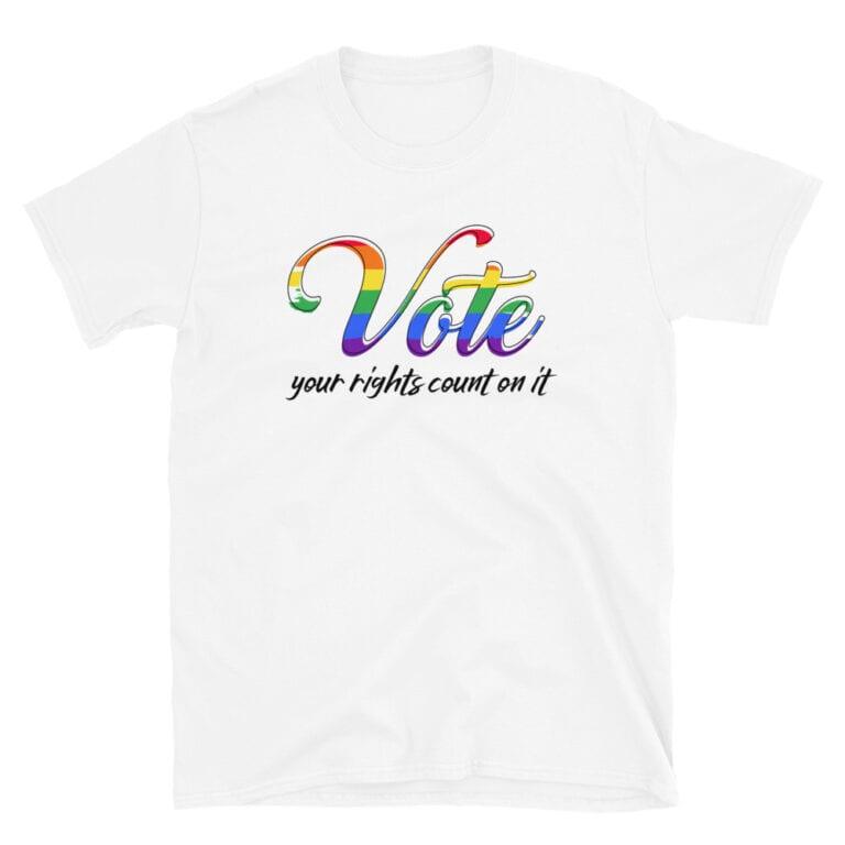 LGBTQ Pride VOTE Tshirt
