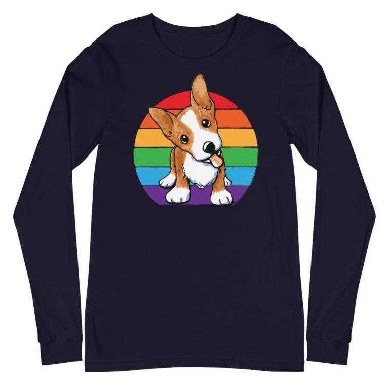 Corgi Pride Long Sleeve Tshirt