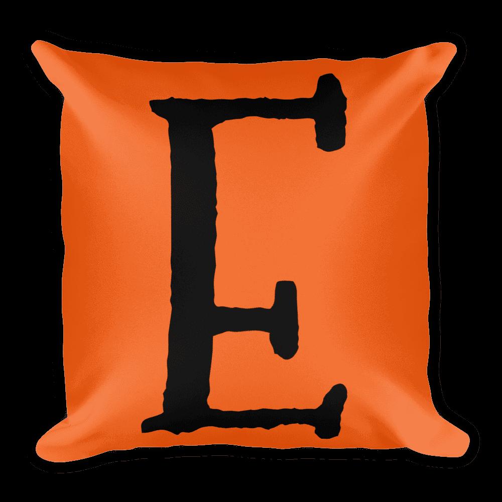 PRIDE Throw Pillow E Orange