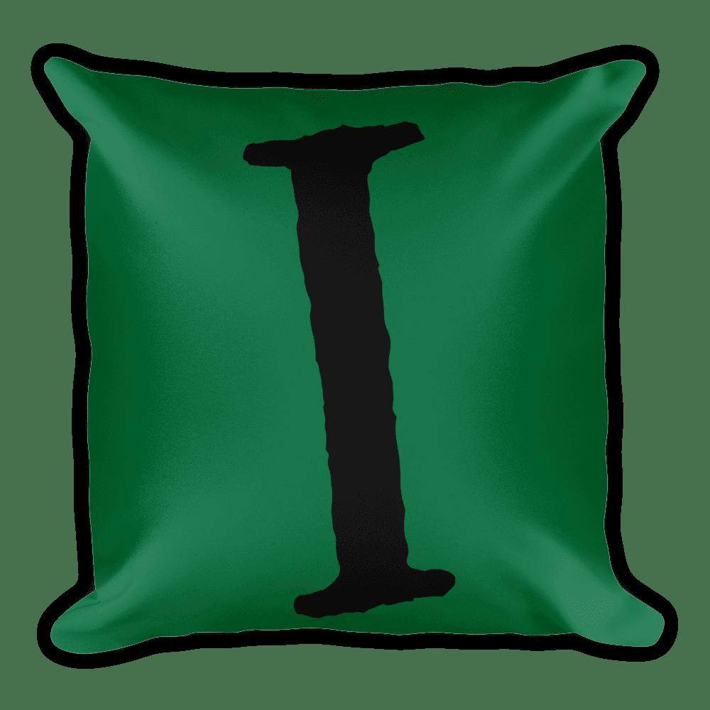 PRIDE Throw Pillow I Green