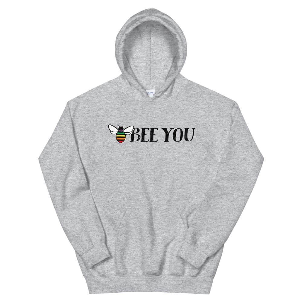 Bee You Gay Pride Hoodie