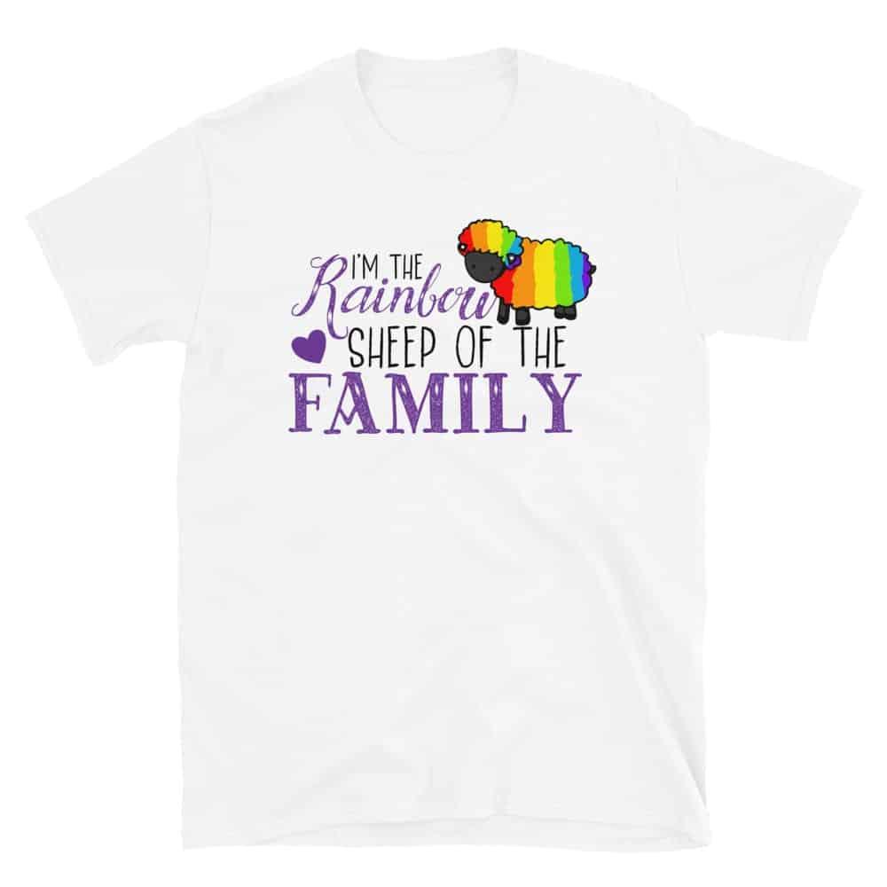 Rainbow Sheep of the Family Gay Pride Tshirt