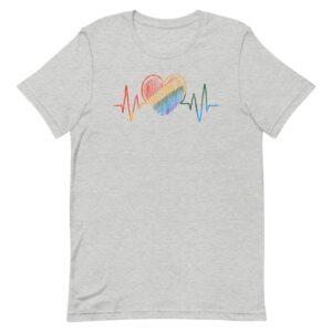 Heartbeat LGBTQ Pride Shirt