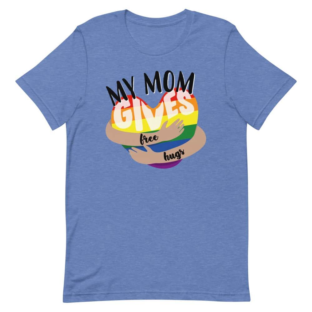 Mom Gives Free Hugs Gay Pride TShirt