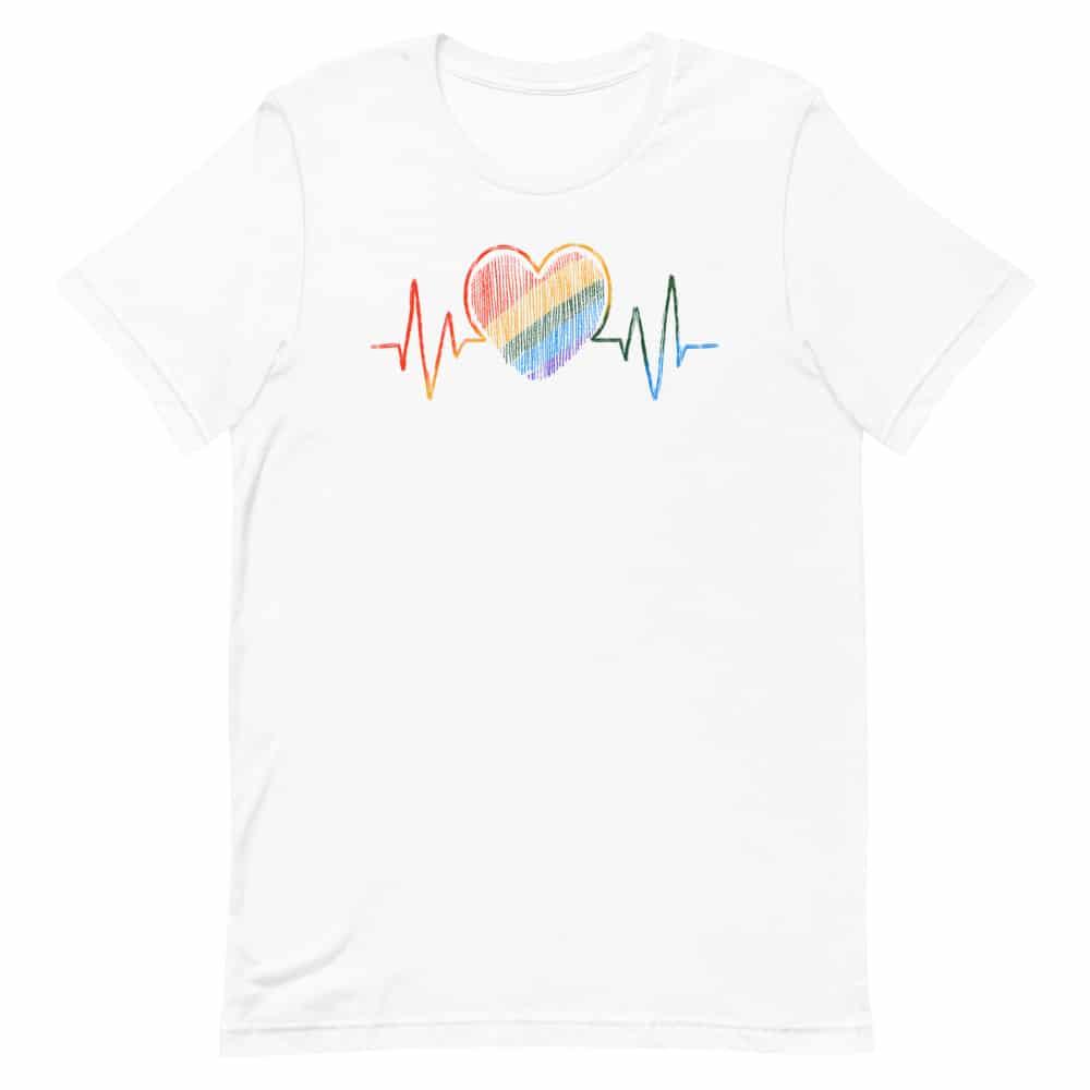 Heartbeat LGBTQ Pride TShirt