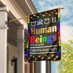 LGBTQ Human Flag and Garden Banner