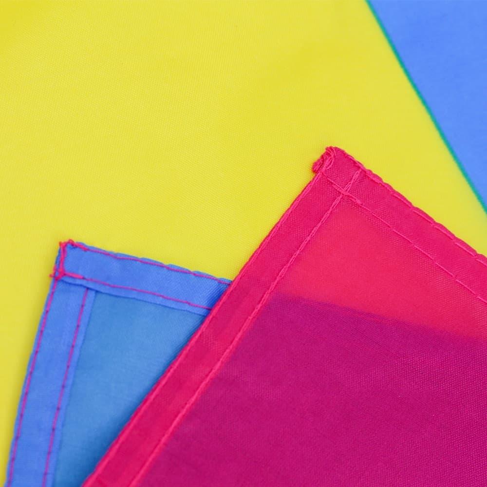 Pan Pink Yellow Blue Pride Flag