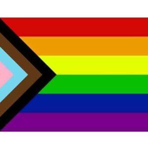 LGBTQ Progressive Pride Flag