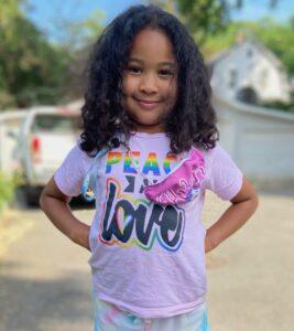 Avery Peace & Love Kid Shirt