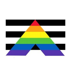 Gay Straight Alliance Pride Sticker