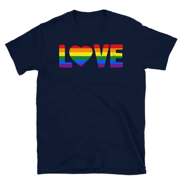 Gay Pride LGBTQ Love Tshirt