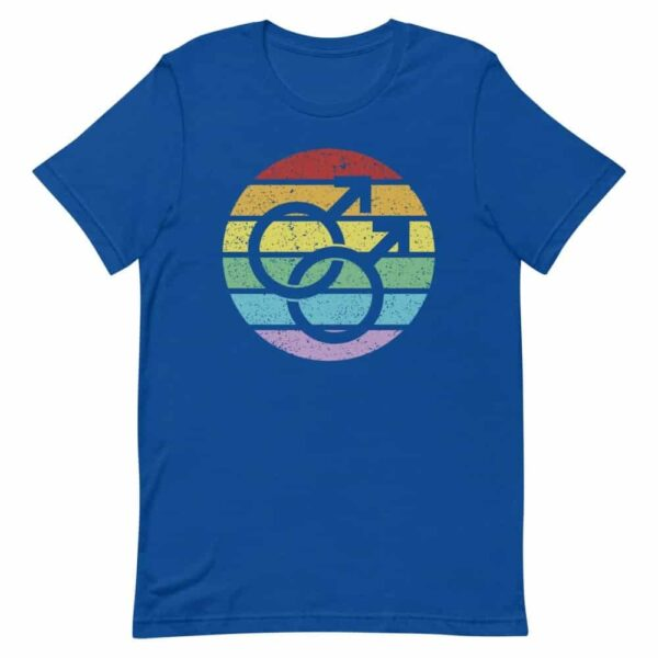 LGBTQ Retro Gay Male Symbol Tshirt