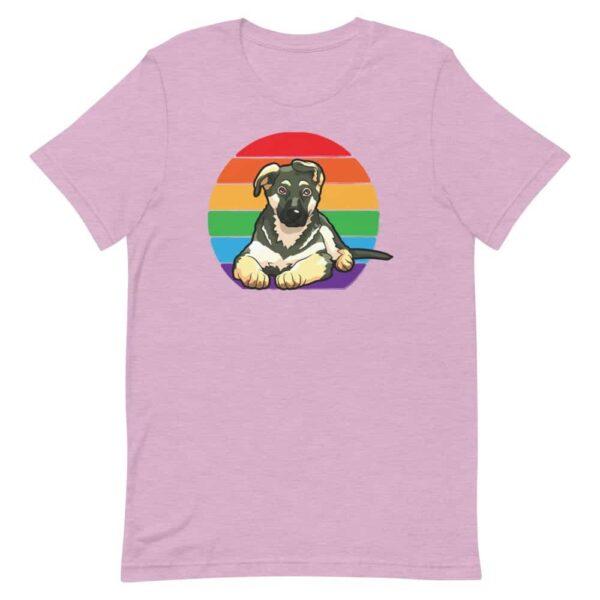 German Shepherd LGBTQ Tshirt