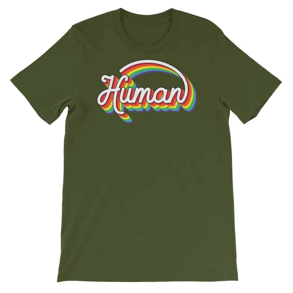 Gay Pride Human Tshirt