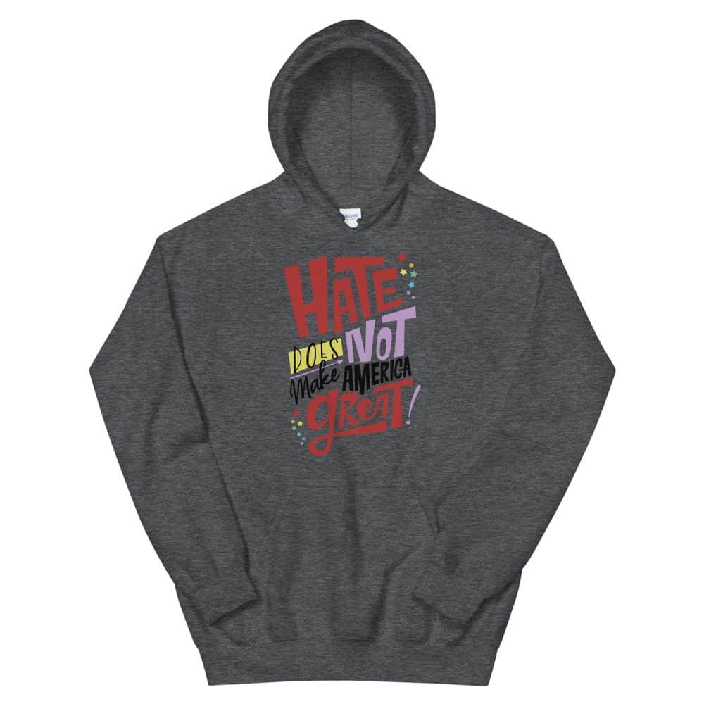 No More Hate Gay Pride Hoodie