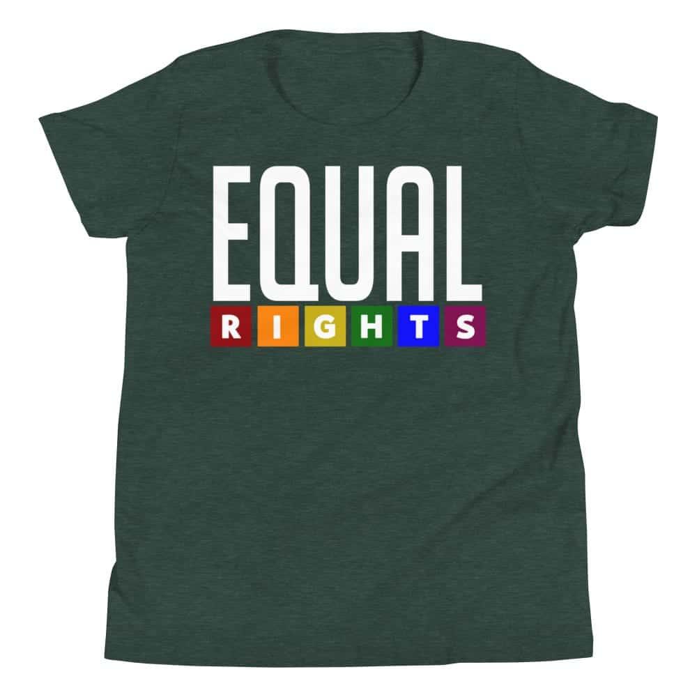 EQUAL RIGHTS Kid Tshirt Green