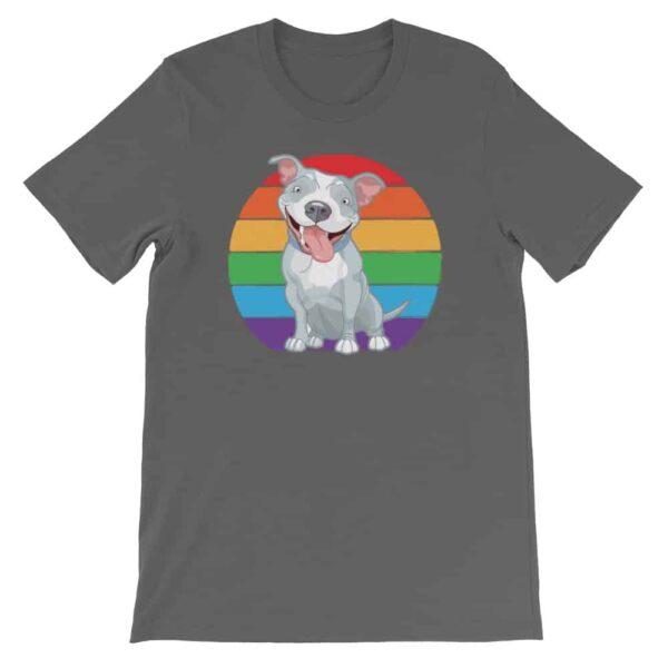 Gay Pride Pit Bull Tshirt