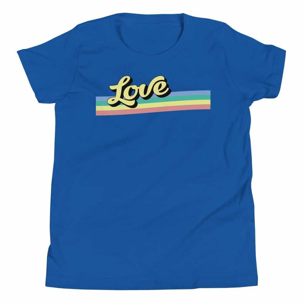 Retro Love Kids LGBTQ Tshirt