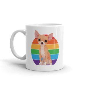 Chihuahua Rainbow Pride Coffee Mug