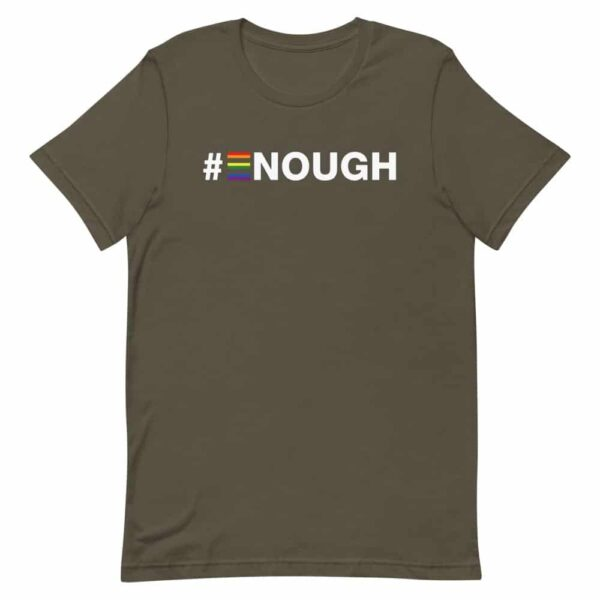 #Enough LGBTQ Tshirt
