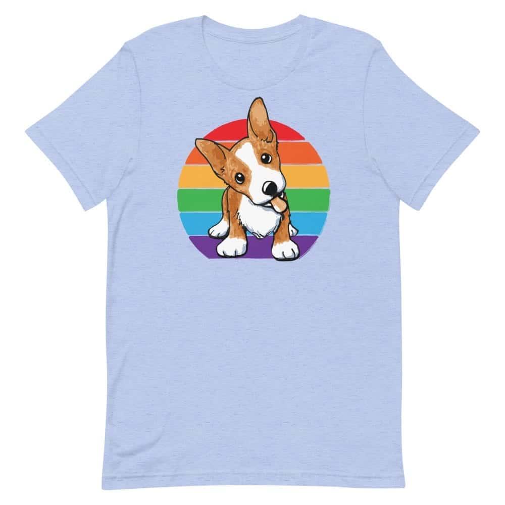 Corgi Gay Pride Tshirt