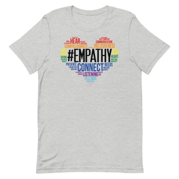 #Empathy from the Heart Gay Pride Tshirt