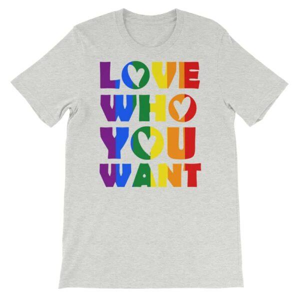 LGBT Pride Rainbow Love Tshirt