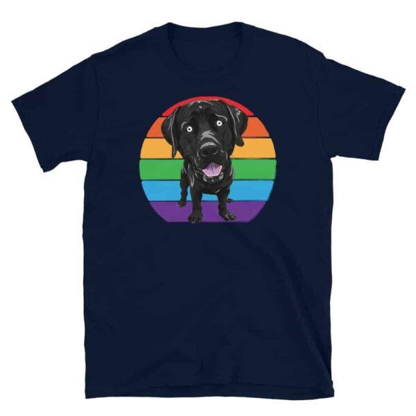 Gay Pride Labrador Tshirt