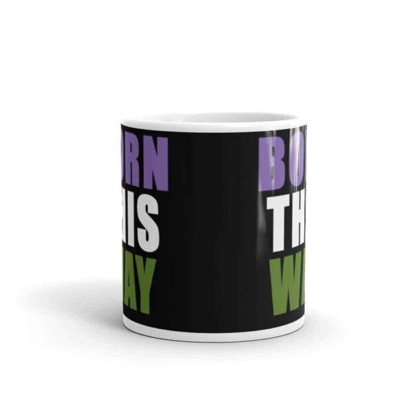 Born This Way Genderqueer Pride LGBT Coffee Mug