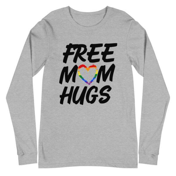 Free Mom Hugs Pride Long Sleeve Tshirt