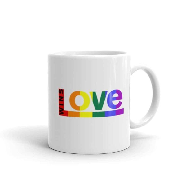 Love Wins LGBTQ Pride Coffee Mug