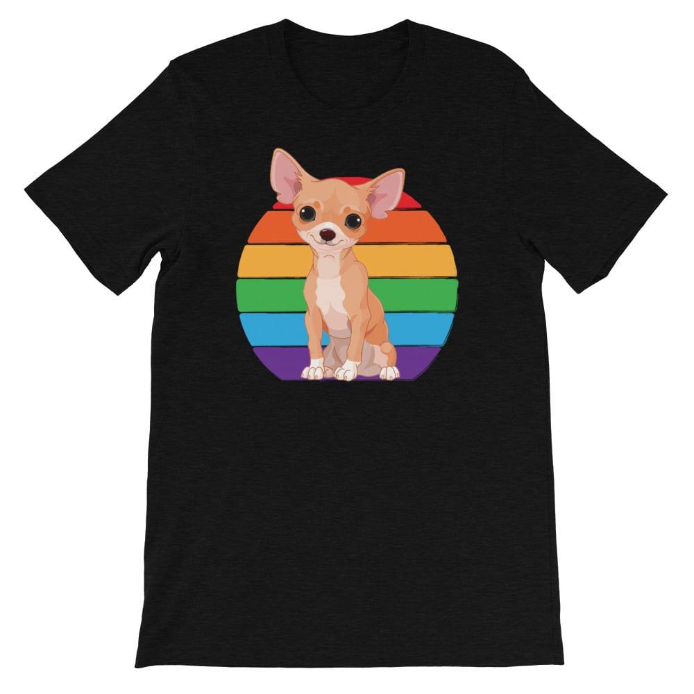 Chihuahua Rainbow LGBTQ Pride Tshirt