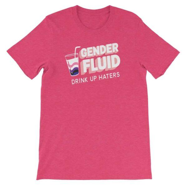 Gay Pride Tshirt Genderfluid