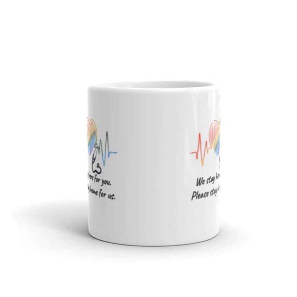 Healthcare Worker Pride LGBT Coffee Mug
