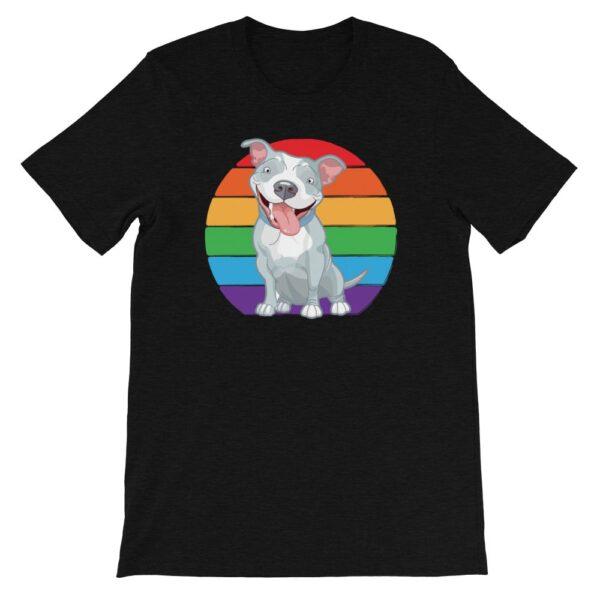 Pit Bull LGBTQ Pride Tshirt