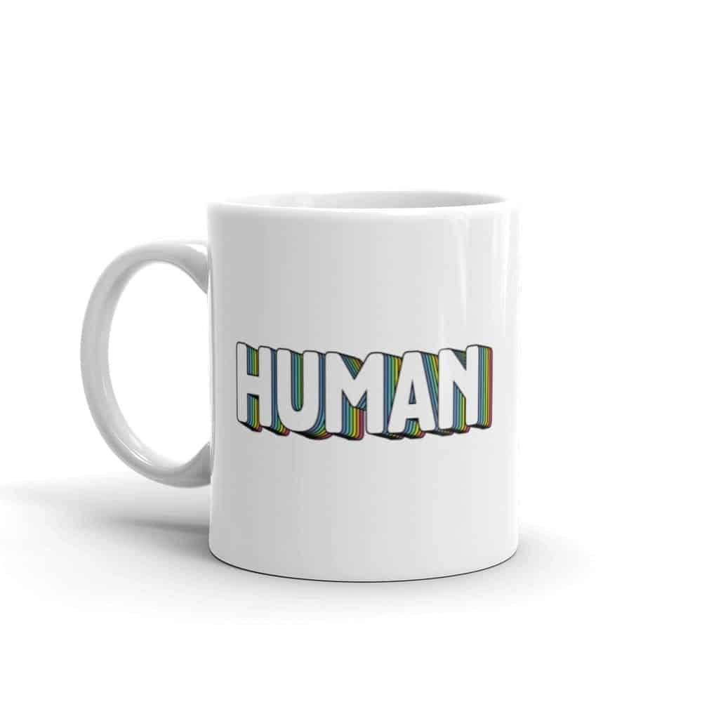 Human Pride Coffee Mug