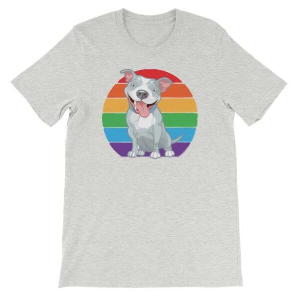LGBT Pride Pit Bull Tshirt
