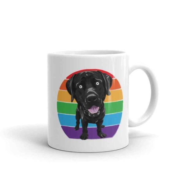 Labrador Rainbow Pride LGBTQ Coffee Mug