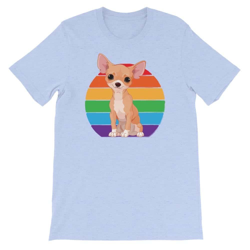 LGBTQ Pride Chihuahua Rainbow Tshirt