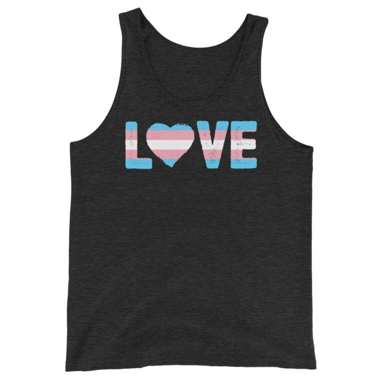 Love Trans Pride Tank Top
